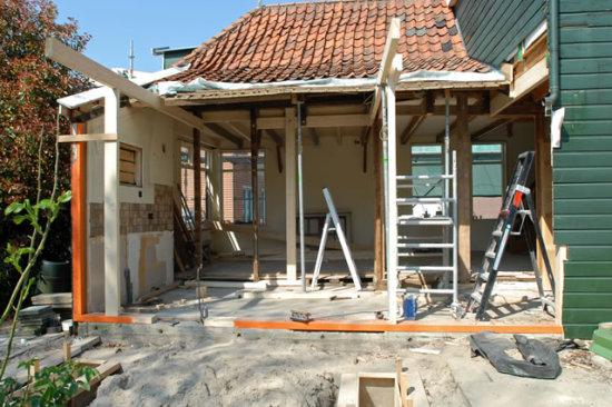 Verbouwing voorjaar 2008